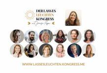 Kongress Lass es leuchten Frauen Frausein